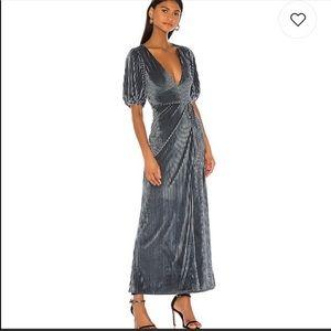 Revolve / Sarai Steel Blue Dress